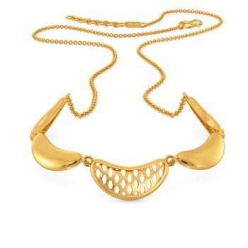 Flounce Fashion Gold Necklaces