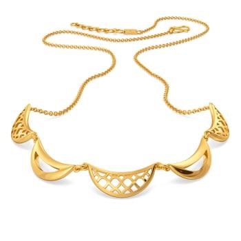 Breezy Blows Gold Necklaces