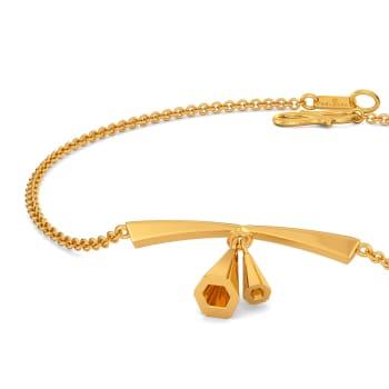 Casual Tassel Gold Bracelets