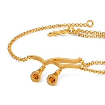 Tassel Tails Gold Bracelets