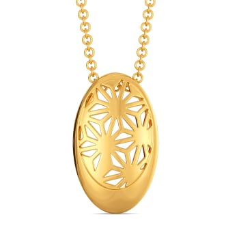 Lacy Reveal Gold Pendants