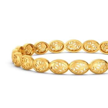 Lacy Reveal Gold Bangles