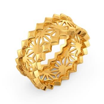 Bare N Bold Gold Rings