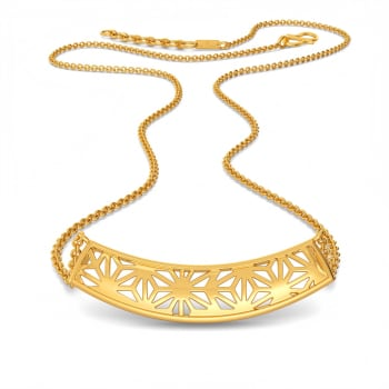 Lace It Up Gold Necklaces