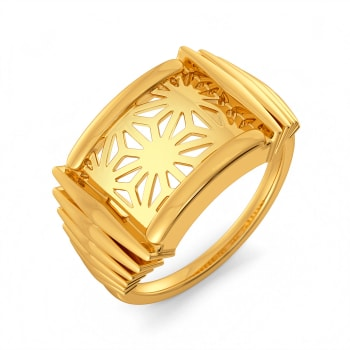 Ready to Revel Gold Rings