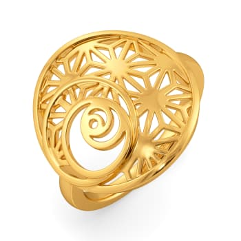 Break Out Bold Gold Rings