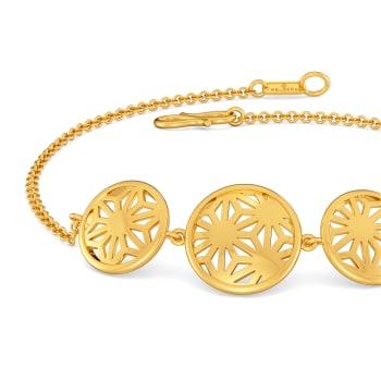 Reveal N Relax Gold Bracelets