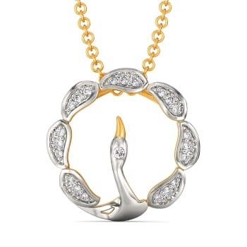 Daring N Demure Diamond Pendants