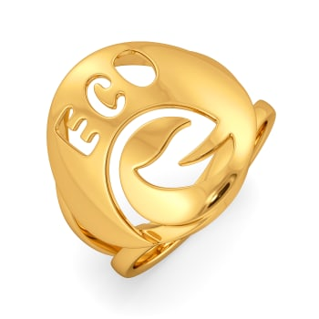 Eco Trails Gold Rings