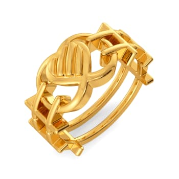 Love Advocate Gold Rings