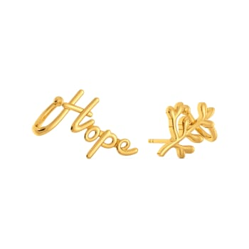 Spirit of Hope Gold Earrings