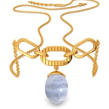 Snow Washed Gemstone Necklaces