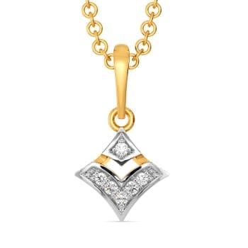 Bonjour Vogue Diamond Pendants