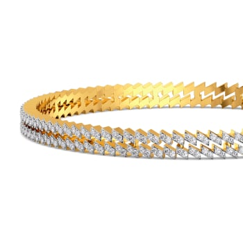 Sloppy Sparkles Diamond Bangles