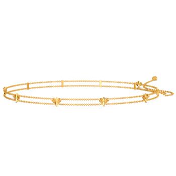 Novel Clique Gold Waist Chains