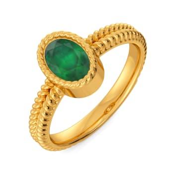 Green Gables Gemstone Rings