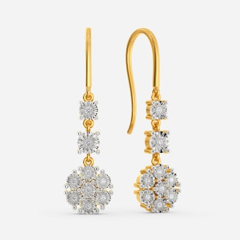 Glint A Flair Diamond Earrings