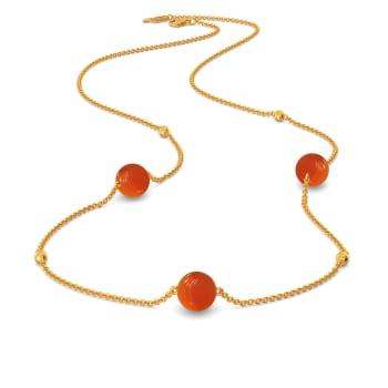 Coral Care Gemstone Necklaces