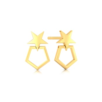 Stars Forever Gold Earrings