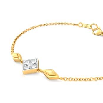 Rhomby Comby Diamond Bracelets