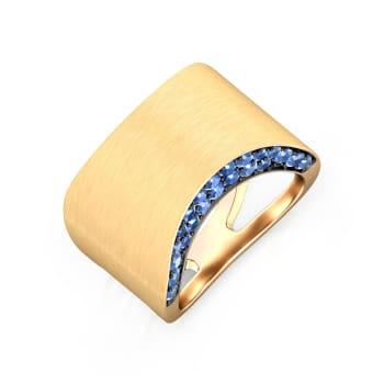 Peek-a-Blue Gemstone Rings