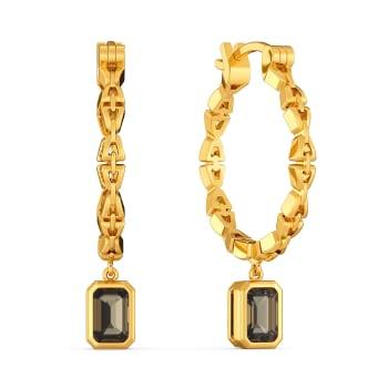 Earthy Neutrals Gemstone Earrings