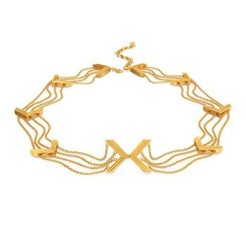 Fringe Fantastic Gold Necklaces