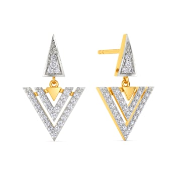 Dash Of Flash Diamond Earrings