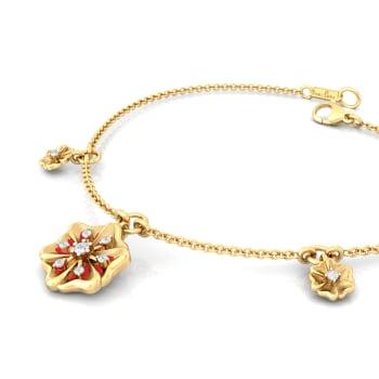 Desert Rose Diamond Bracelets