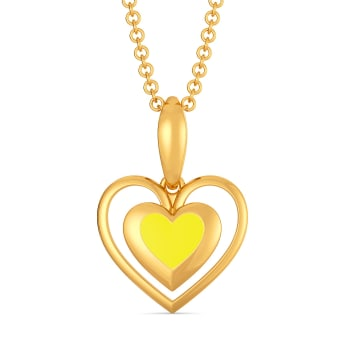 Love Brunch Gold Pendants