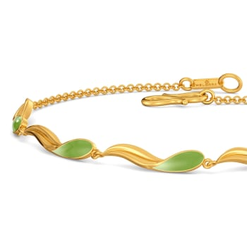 Leaf Land Gold Bracelets