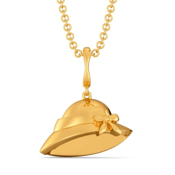 Hat Hitherto Gold Pendants