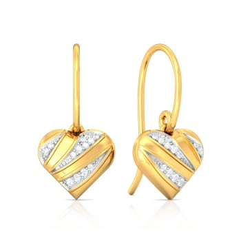 L'Amour Diamond Earrings