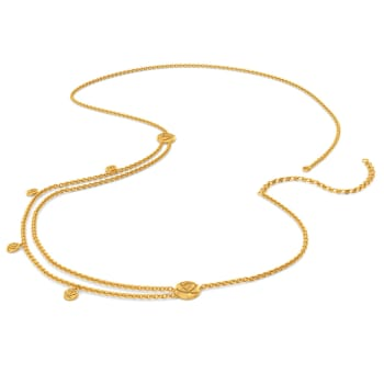 Rosy Manoeuvre Gold Waist Chains