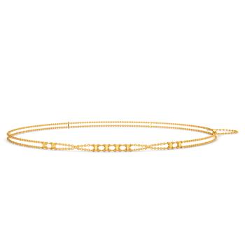 Prim N Pride Gold Waist Chains