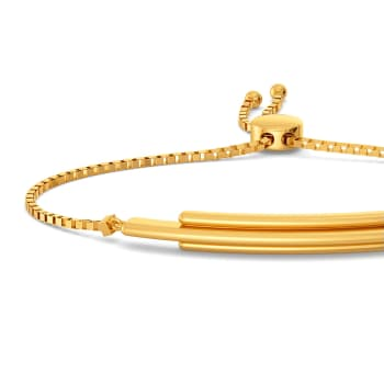 Sleek N Streak Gold Bracelets