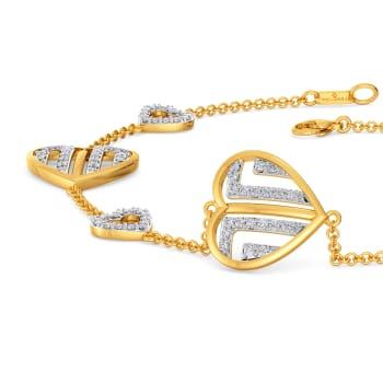Eiffel Power Diamond Bracelets