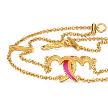 Fuchsian Love Gold Bracelets