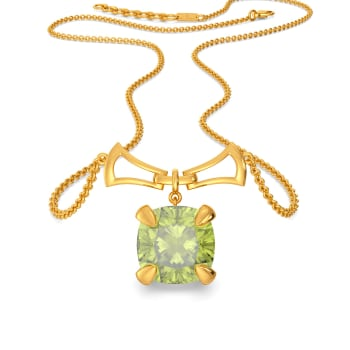 Pepper Stem Parade Gemstone Necklaces