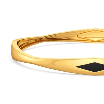 Trench Trials Gold Bangles