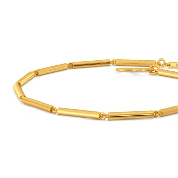 Tube Play Gold Bracelets