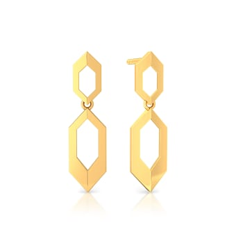 Golden Muse Gold Earrings
