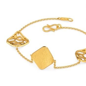 On The Square Gold Bracelets