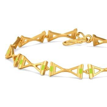 Bold Neon Gold Bracelets