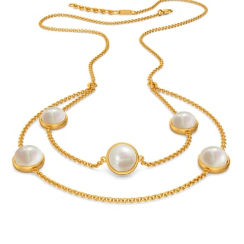 Dot the Polka Gemstone Necklaces