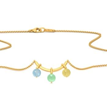 Hello Cakesicles Gemstone Necklaces