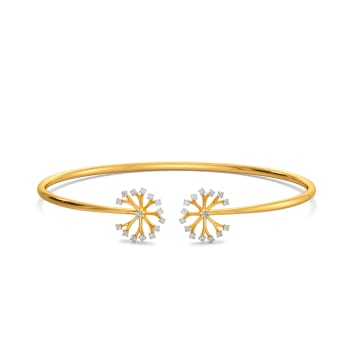 Dandelion Dates Diamond Bangles