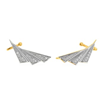 Sculpt Suit Diamond Earrings