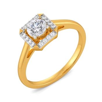 Quad Cupid Diamond Rings