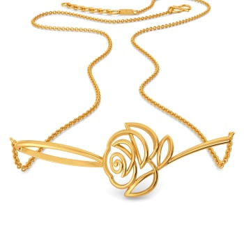 Rose Rules Gold Necklaces